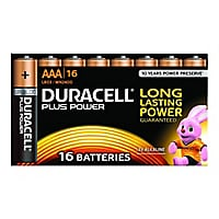 Duracell Coppertop Alkaline AAA 1.5V Battery - 16/Pack