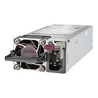 HPE - power supply - hot-plug / redundant - 800 Watt - 908 VA