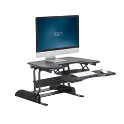 VARIDESK - Height Adjustable Standing Desk - ProPlus 30 - Black
