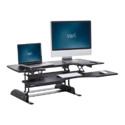 VARIDESK - Height Adjustable Standing Desk - ProPlus 48 - Black