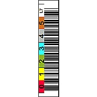 EDP Tri-Optic Linear Tape Open-7 6-Character Horizontal Label