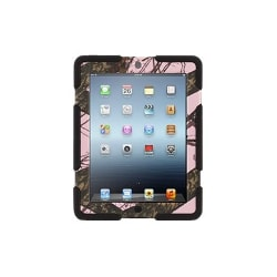 Griffin Survivor in Mossy Oak Camo + Stand - protective cover for tablet