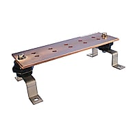 "Erico EGBA14412MM 4""x4""x12"" Grounding Busbar"