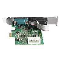 StarTech.com 2 Port RS232 Serial Adapter Card with 16950 UART - PCIe Card -
