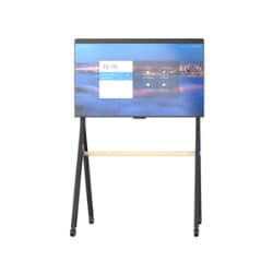 "DTEN 400x300 Rolling Mobile Stand for 55"" D7 Board - Black Gray"