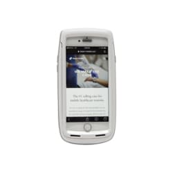 Beam Mobile Griffin SLED for iPhone - White/Gray