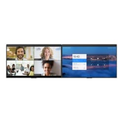 "DTEN D7 55"" Dual Screen Whiteboard Display"