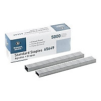 Business Source Chisel Point Standard Staples - Silver