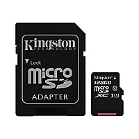 Kingston Canvas Select - flash memory card - 128 GB - microSDXC UHS-I