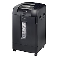 Swingline SmarTech Stack-and-Shred 750X Auto Feed Shredder - Black
