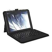 Zagg Messenger Folio Keyboard and Case for iPad Mini - Black