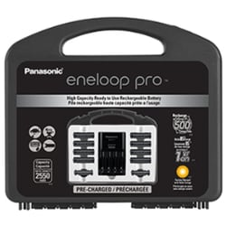 Panasonic eneloop pro High Capacity Power Pack with Battery Charger