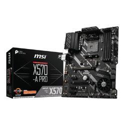 MSI X570-A PRO - motherboard - ATX - Socket AM4 - AMD X570