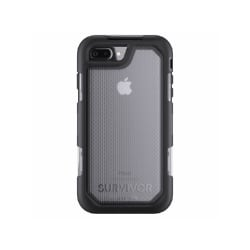 Griffin Survivor Summit Case with Belt Clip for iPhone 7 Plus - Black Clear