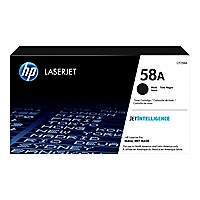 HP 58A - black - original - LaserJet - toner cartridge (CF258A)