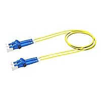 CommScope TeraSPEED 2' LC to LC Duplex 2-Fiber Patch Cord - Yellow