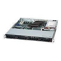 Supermicro SC813M TQ-600CB - rack-mountable - 1U - ATX