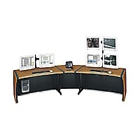 "Middle Atlantic 48"" Add-A-Bay LCD Monitoring Desk - Dark Cherry"