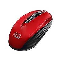 Adesso iMouse S50R 2.4GHz Wireless Mini Optical Mouse - Red