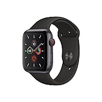 Apple Watch Series 5 (GPS + Cellular) - space gray aluminum - smart watch w