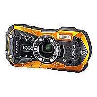 "Ricoh WG-50 1/2.3"" CMOS 5x Optical Zoom Digital Camera - Orange"