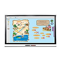 """Teq SMART Board 6075 75"""" Interactive Display with kapp iQ,Mount,Cable"""
