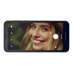 Motorola Moto E6 - starry black - 4G - 16 GB - CDMA / GSM - smartphone