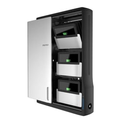 Ergotron Zip12 Charging Wall Cabinet - cabinet unit