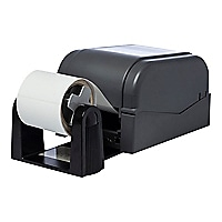 Brother external paper roll holder