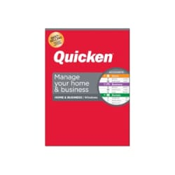 Quicken Home & Business 2020 - box pack (1 year) - 1 license