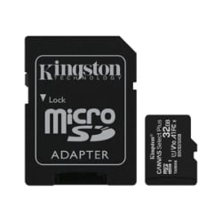 Kingston Canvas Select Plus - flash memory card - 32 GB - microSDHC UHS-I