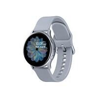 Samsung Galaxy Watch Active 2 - cloud silver aluminum - smart watch with ba