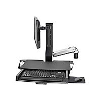 Ergotron StyleView Combo Arm with Worksurface & Pan - mounting kit