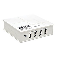 Tripp Lite 4-Port USB Charging Station with OTG Hub - 5V 6A / 30W USB Charg
