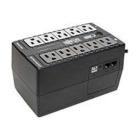 Tripp Lite UPS 650VA 325W Eco Green Battery Back Up 120V USB Muted Alarm
