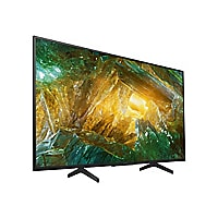 "Sony XBR-43X800H BRAVIA X800H Series - 43"" Class (42,5"" viewable) LED TV -"