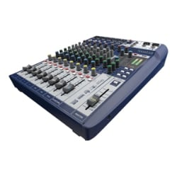 Soundcraft Signature 10 analog mixer - 10-channel