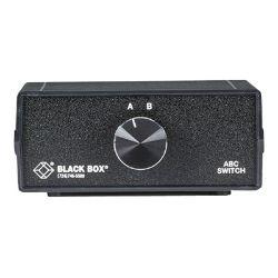 Black Box ABC Manual Switch - switch - 2 ports