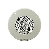 Bogen Ceiling Speaker Assembly with S86 Cone T725 Recessed Volume Control
