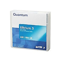 Quantum - LTO Ultrium 3 x 1 - 400 GB - storage media