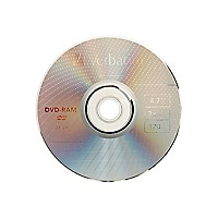 Verbatim - DVD-RAM x 1 - 4.7 GB - storage media