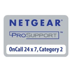 NETGEAR ProSupport OnCall 24x7 Category 4 - technical support - 1 year