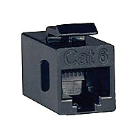 Tripp Lite Cat6 Straight Through Modular In-line Snap-in Coupler RJ45 F/F -