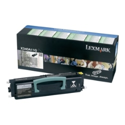 Lexmark X340H21G Hi-Yield Black Toner Cartridge