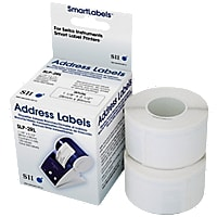 Seiko SmartLabels for Smart Label Printers, White Address