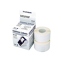 Seiko SmartLabels for Smart Label Printers, White Address Large Capacity