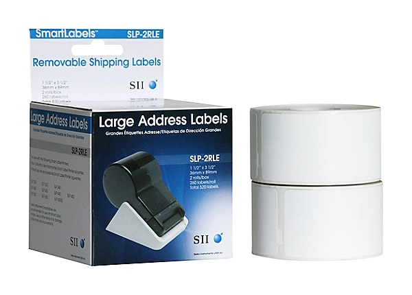 Seiko SmartLabels for Smart Label Printers, Large White Address