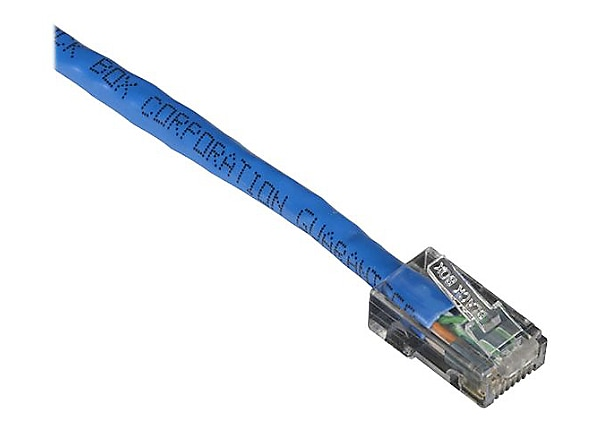 Black Box GigaTrue CAT6 Channel 550-MHz Patch Cable with Basic Connector -