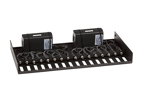 Black Box Rackmount Tray with 2 9V Power Supplies