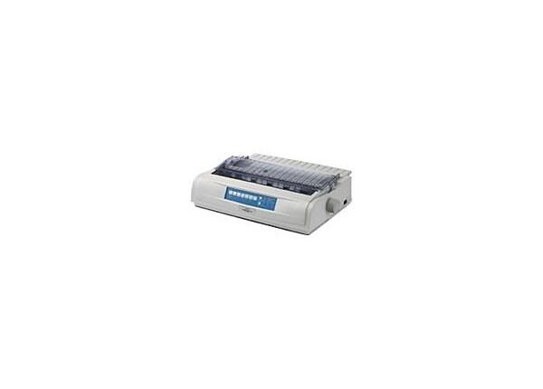 OKI ML 421N Impact Printer Black Ethernet Wide Car